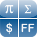 Perpenso Calc 4, five calculators in one, scientific, statistics, business, hex and bill / tip, fractions, complex numbers, rpn, tvm, rgb, hex