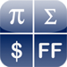 Perpenso Calc, five calculators in one, scientific, statistics, business, hex and bill / tip, fractions, complex numbers, rpn, tvm, rgb, hex
